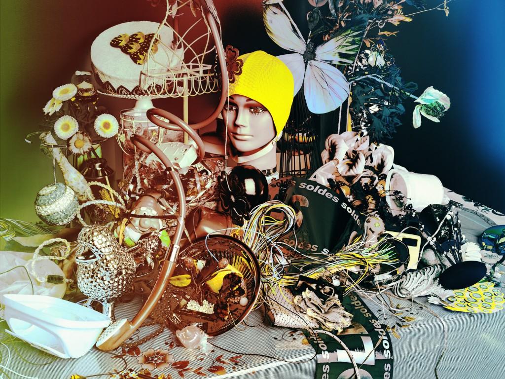 Valérie Belin - Still Life with Dish