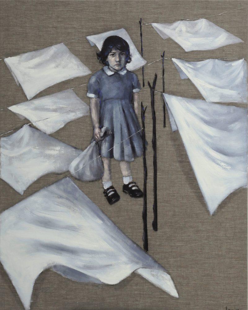 "KROMA Achilleas Pistonis ""Eleni"", 140x110cm, oil on canvas"