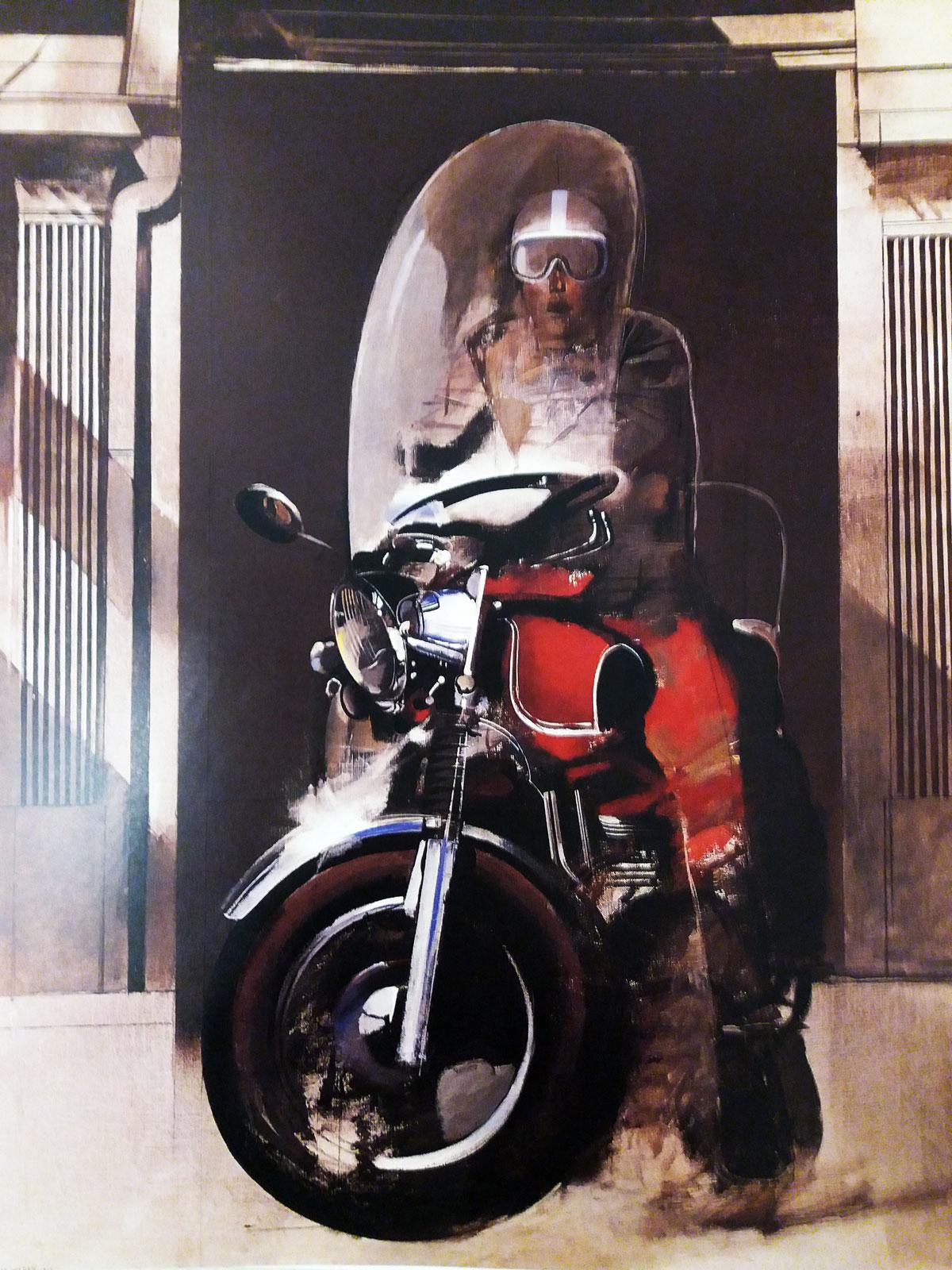 KROMA / D. Mitaras / Door / acrylics / 210x164cm / 1970