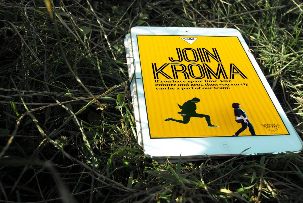 KROMA Magazine - Join