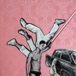KROMA/Alexandros Maganiotis_Guardian_Angel_60 x 40 cm_Mixed Media Collage_pr
