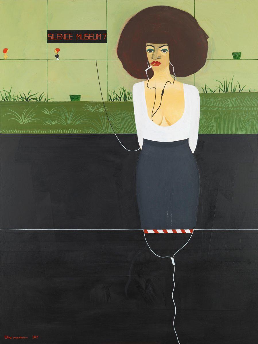 KROMA / Elias Papanikolaou / SILENCE MUSEUM 7, 2017, 160x120 cm