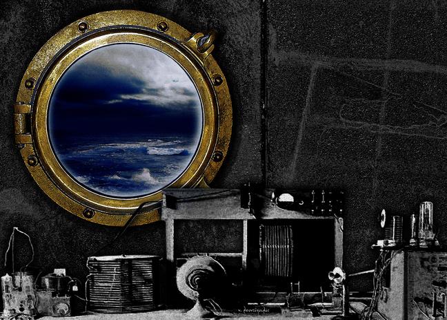 KROMA / Νίκος Λεοντόπουλος, Βάρδια, 50x70cm, Φωτογραφική σύνθεση εκτυπωμένη σε καμβά ζωγραφικής