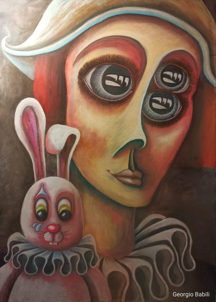 KROMA / Georgio Babili, Tears of confinement, 100x70cm