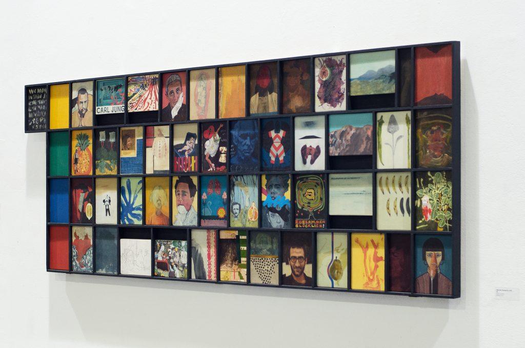 KROMA / Kunsthallekleinbasel C Iasonas Kampanis 54 Painting on wood Athens2019